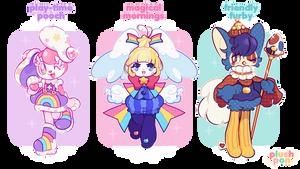 CLOSED   Childhood Comfort Mascots