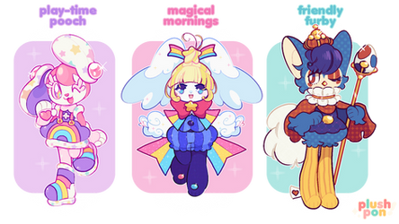 OPEN | Childhood Comfort Mascots