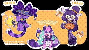 CLOSED | Halloween Mascots!