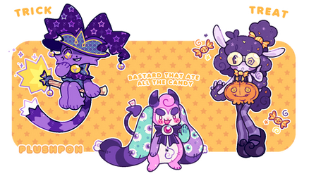 AB ADDED | OPEN | Halloween Mascots!