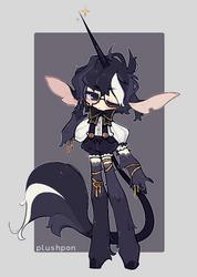 custom| gothic unicorn prince