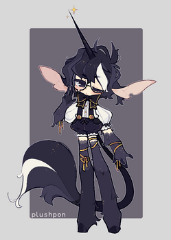 custom| gothic unicorn prince