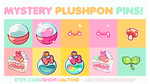 Plushpon Pins Series 2 - Mystery Bags! by plushpon