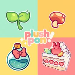 plushpon: aesthetic assortment!