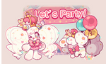 CLOSED Mascot Shop| Let's Party! by plushpon