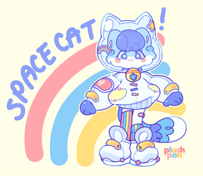Mascot Shop| Space Cat!