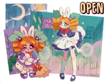OPEN Mascot Shop| Pretty Witch Carrot-Chan! by plushpon