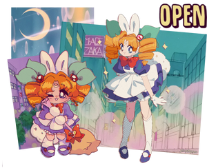 OPEN Mascot Shop| Pretty Witch Carrot-Chan!