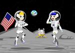 The Space Kids : Apollo Anniv. Mission, Circa 2038 by ZhmieXD