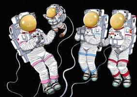 Cardcaptor Spacegirls - Coloring Gift (Alt. Ver.) by ZhmieXD