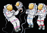 Cardcaptor Spacegirls - Coloring Gift (Alt. Ver.)