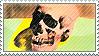 Andy Warhol Skull Stamp by Kiboku