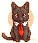 Business Cat by Kiboku