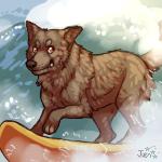 Surfer Dawg by Kiboku