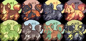 Chibi Foxy Adoptables