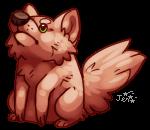 grumpy mr fox by Kiboku