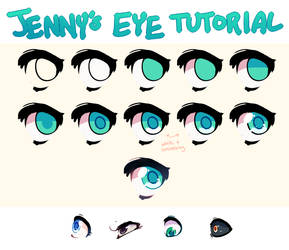 Super Quick Eye Tutorial by PeachTabby