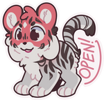 Cutie Tiger Adopt - CLOSED