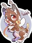 2017 Shiberoll Advent - 26th Rudolph