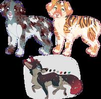 $5 Canine Adopts - CLOSED by Kiboku