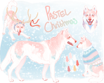 Pastel Christmas - SOLD