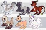 Chibi Pup Adopts - SOLD