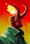 Hellboy - fanart