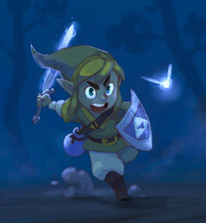 Zelda Link to the past [Cell or soft anime style]
