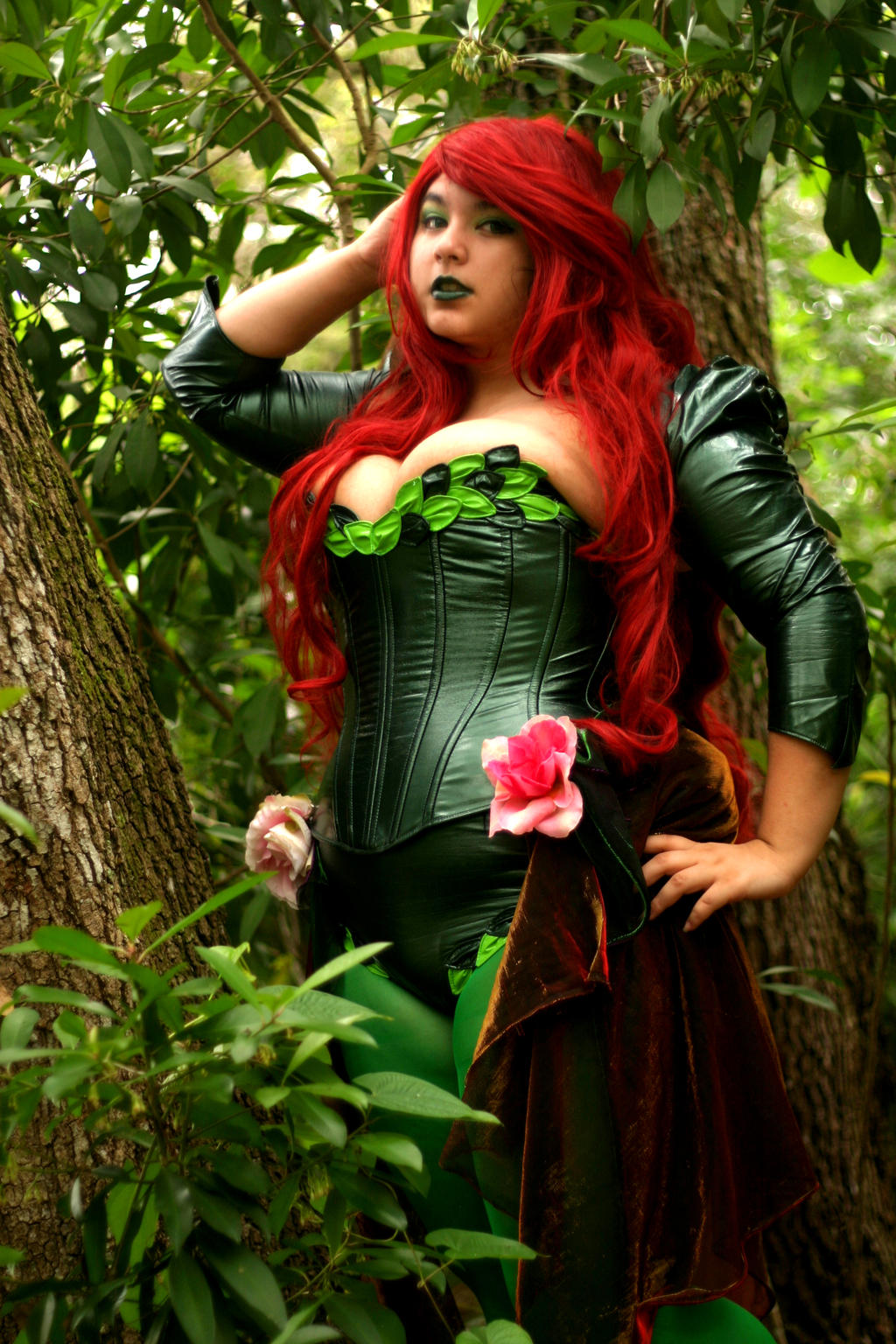 Welcome to my Garden- Poison Ivy Cosplay by AlyChuCosplay