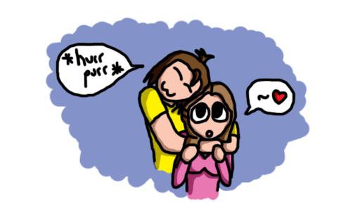 Fridge Moment 1: A Hug by antzumon
