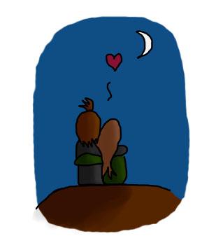 Fridge Moment 3: In Moonlight by antzumon