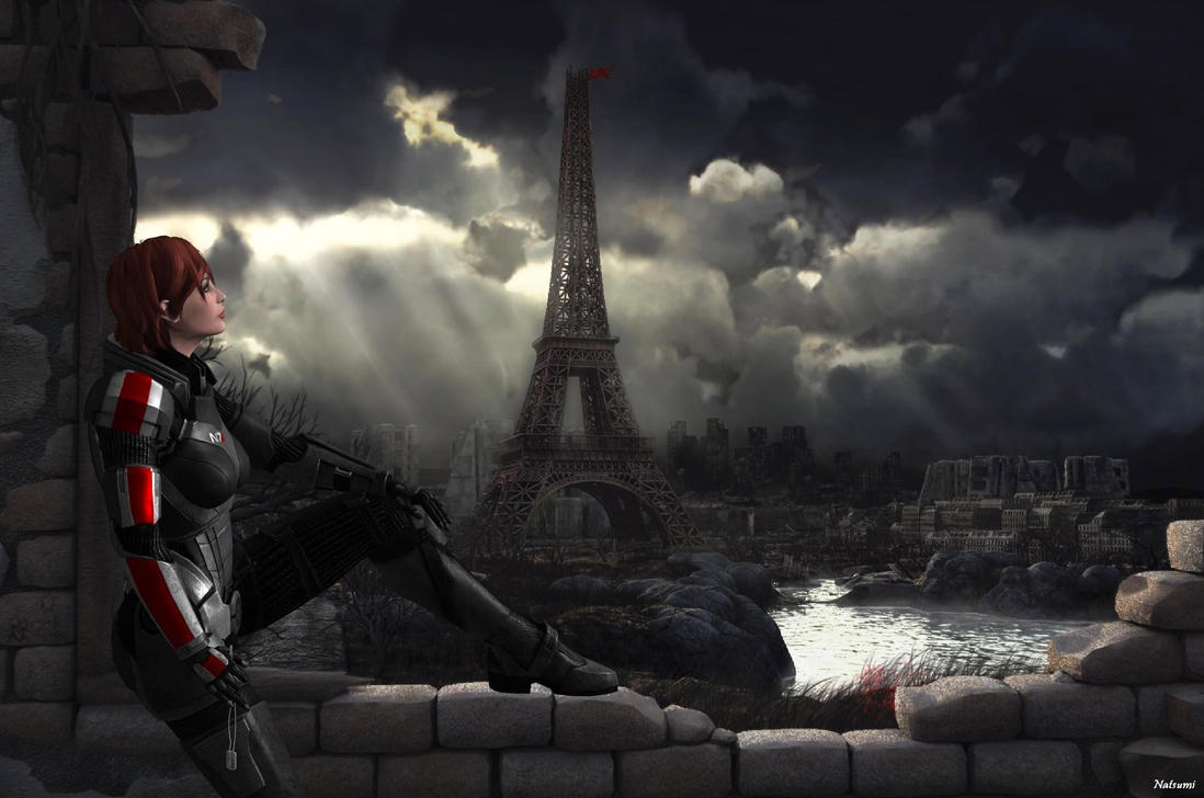 Aftermath Of Paris Natsumi On Deviantart Jpg 1098xp Gaming Backgrounds Awesome Pictures
