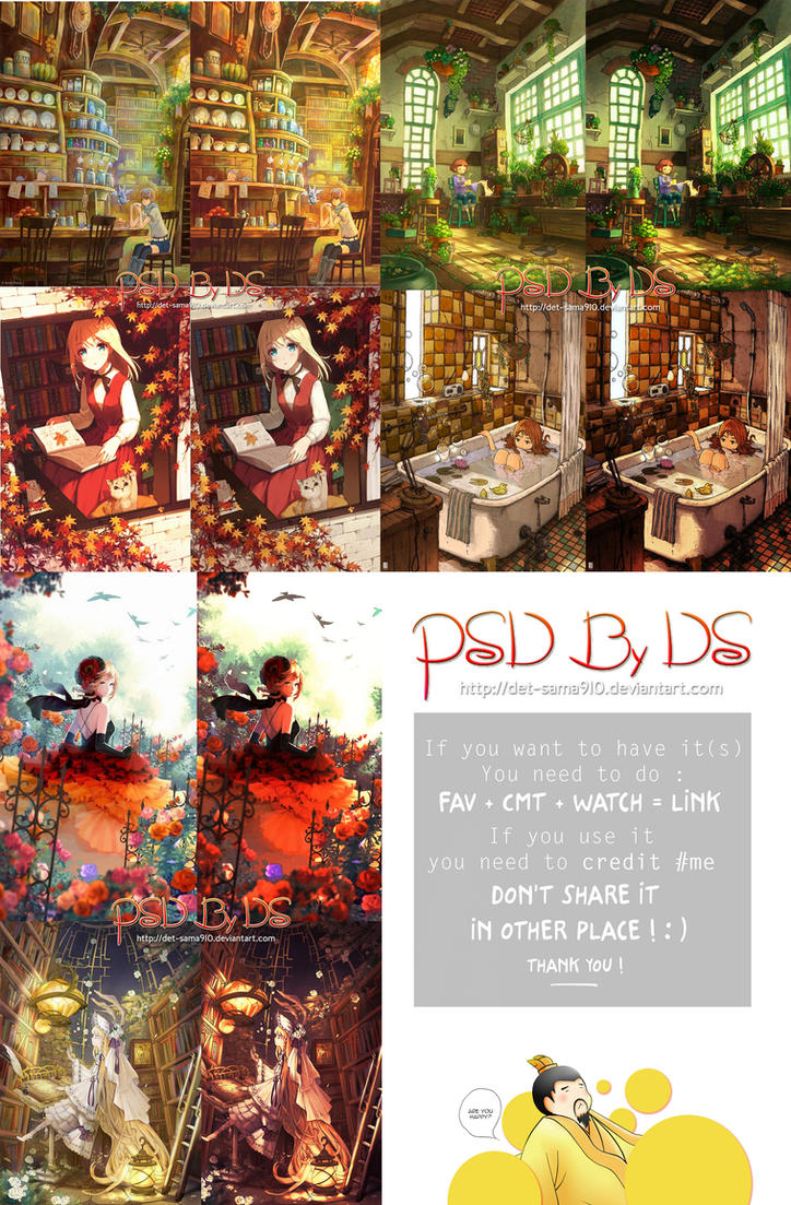 Pack 3 PSDs Coloring [ 1905017 ] by Det-Sama