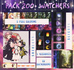 PACK 200+ WATCHERS [ 030717 ]