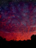 Night Sky II by James-Edward