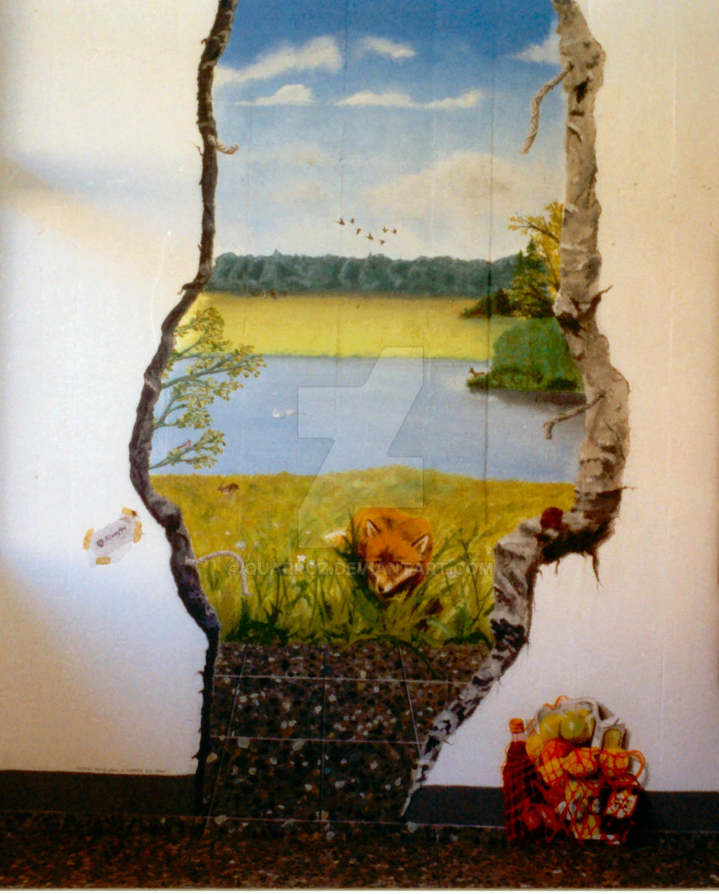 hole in the wall by Quarroz on DeviantArt