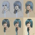Drawing process | Albafica