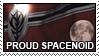 proud spacenoid stamp by spikerommel