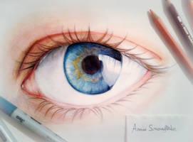 Yeah, an eye, again... XD by AmiiSnowflake