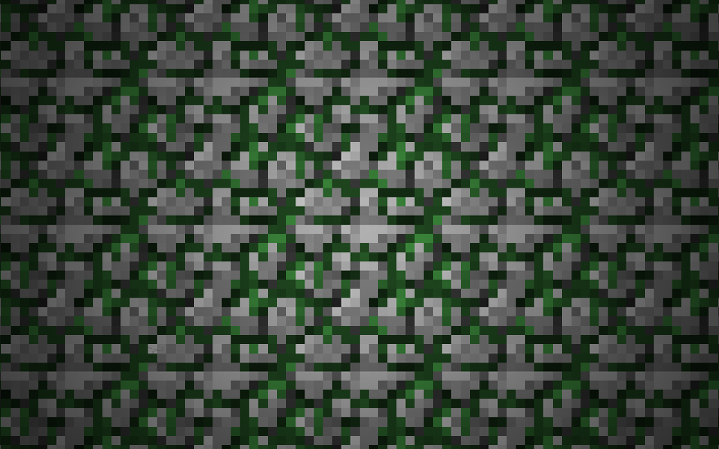 Mossy Cobblestone Wallpaper v2 by Fivezero09 on DeviantArt
