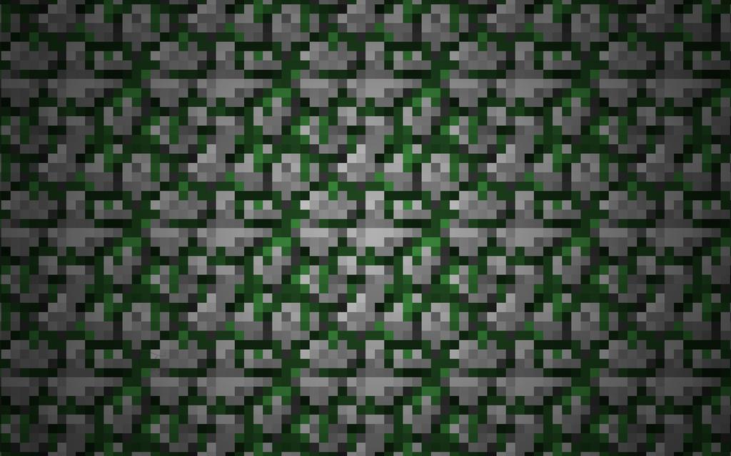 Mossy Cobblestone Wallpaper v2 by Fivezero09 on DeviantArt