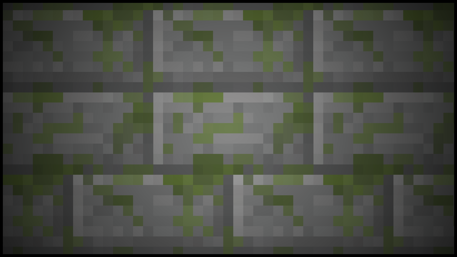 Mossy Stone Bricks  1920x1080 Minecraft Stone Wallpaper