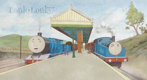 Thomas and the Guard - Middleton Style