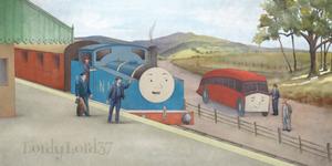 Thomas and Bertie - Middleton Style