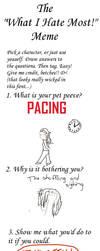 Pet Peeve Meme- Pacing by TrackHopper
