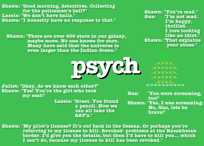 Psych Quote Wallpaper By TrackHopper ...