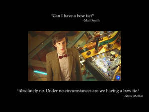 The Doctor's Bow Tie