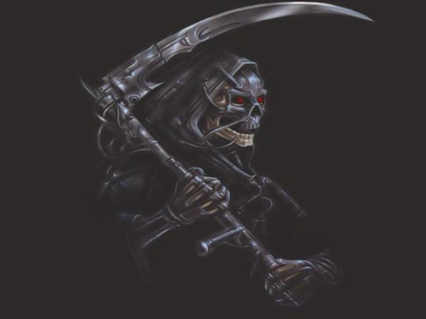 Grim Reaper wallpaper by Simatickiko