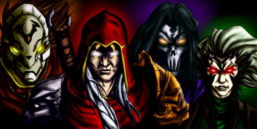 Darksiders - Four Horsemen by StrangerOfTheEast