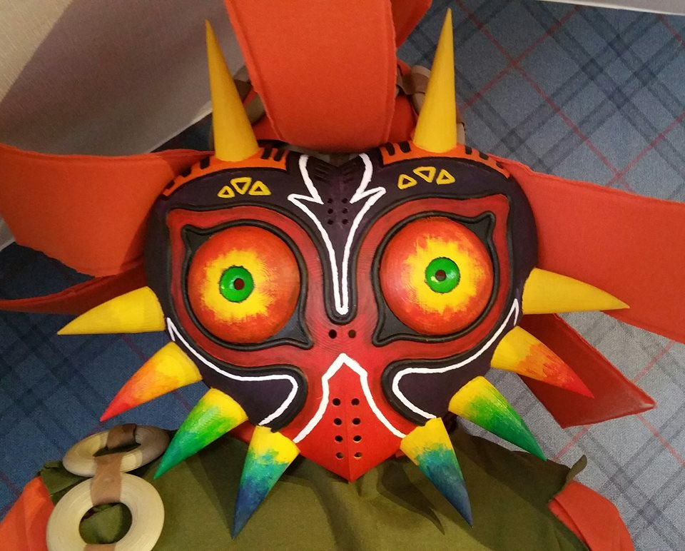 Majoras Mask - Cosplay Mask by ShiroJojo